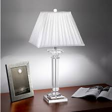 Image Of: French Crystal Table Lamps