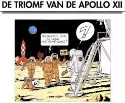 Kuifje Op De Maan Hergé Berichten Uit Het Verleden