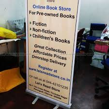 Pop Up Display Stands India Roll Up Banner Stand Portable Stand Banner Stands Chennai 77