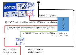 new tacoma tundra factory led bed light kit page 7 tacoma world bed light switch wiring diagram jpg
