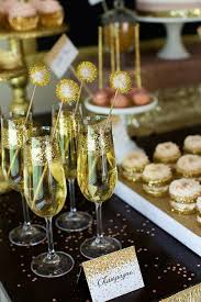 Champagne New Year Party Ideas