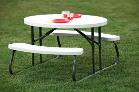 round picnic table tablecloth background free lifetime