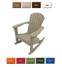 Outdoor Poly Furniture Perfect Choice Furniture OFCR Adirondack