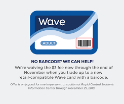 Show the wave card at participating washington avenue businesses on miami beach and receive a discount. The Rapid Does Your Wave Card Have A Barcode On The Facebook