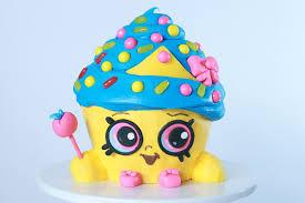 Shopkins Cupcake Queen Cake Rosanna Pansino
