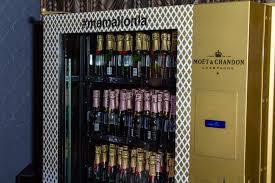 Vending Machines In Kenya Extraordinary Moët Mini Champagne Vending Machines Arrive In Los Angeles Kenya