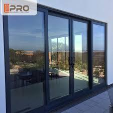 air proof aluminium sliding patio doors