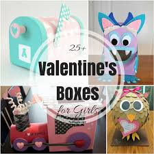 Hearts, flowers, cute critters, fancy fonts, and photos carrying messages of love and friendship will definitely be hanging out on mantels, desks, and refrigerators way past the shelf life of a cupcake. 25 Valentine Boxes For Girls Nobiggie
