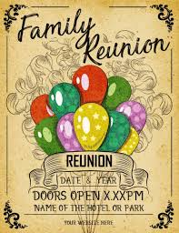 Family Reunion 10 Templates Easy To Customize Download And Print