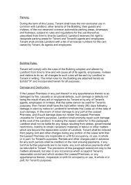Commercial Lease Agreement In Word And Pdf Formats - Page 5 Of 9