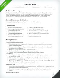 Sample Of Nursing Resume Wikirian Com