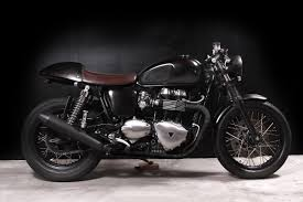 return of the cafe racers triumph thruxton doomrider cafe racer