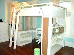 bunk bed office underneath. Loft Bed With Desk Underneath Queen Plans Upsiteme Bunk Beds Office
