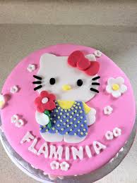 Pink Hello Kitty Birthday Cake Lolos Cakes Sweets