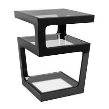 glass end tables for living room. Living Room, Room End Tables Black Unique Shape Classic Elegant And Modern Furniture Square Glass For A