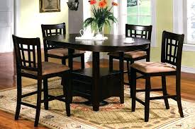 bar height table set bar height dining sets full size of dining room round bar height