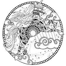 Egyptische Mandala Kleurplaat Malvorlage Prhistorie Ausmalbild 3201
