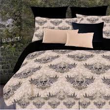 girl full size bedding sets skull bedding for boys or girls twin full queen king comforter sets