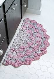 more views half moon rugs 10 stylish crochet designs