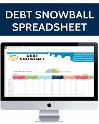 Online Debt Snowball Calculator Learn How To Use The Debt Snowball Free Download Of A