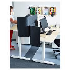 sit stand desk ikea bekant birch veneer white 160x80 cm ikea 15