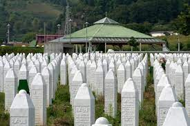 Friedensmarsch zurück nach Srebrenica |