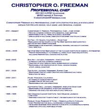 sous chef resume job description Chef Resume Examples christopher O. Freeman