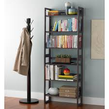 ... Awesome Container Store Bookshelves Diy Free Standing Shelves Brown  Wooden Books: inspiring container ...