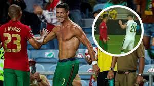 Cristiano Ronaldo und sein Weltrekord: Beinahe-Tätlichkeit und ein  abgebrochenes Interview