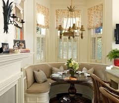 Kitchen Nook Lighting Bay Window Breakfast Nook Ideas Dining Room Traditional With Built