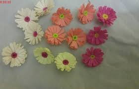 Daisy Paper Flower Quilling Paper Flowers For Craft Work