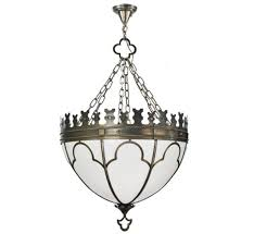 gothic 26 dia large transitional pendant light
