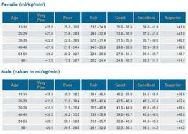 Fit Treadmill Score Chart Want To Know How Fit You Really Are Then Try A V02 Test