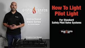 How To Light The Pilot On A Gas Log Burner System