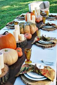 decoration thanksgiving outdoor decor appealing outdoor thanksgiving table settings for dining alfresco decor styles and popular
