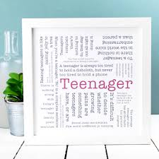 Gift For Teen Teenager Quotes Print