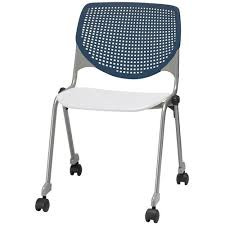 kool furniture. Our 2300 KOOL Series Stacking Poly Silver Steel Frame Armless Chair With  Navy Perforated Back And Kool Furniture