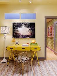Yellow Office Energize Your Workspace 30 Home Offices With Yellow Radiance
