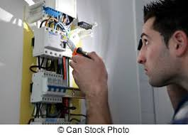 fuse box stock photo images 2 619 fuse box royalty pictures man repairing fuse box