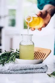 apple cider vinegar hair rinse for split ends