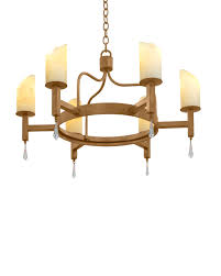 to enlarge mid century mission 6 light chandelier
