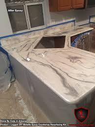 Cement Over Tile Countertops Another First Time User Of Our Products And It Looks Amazing