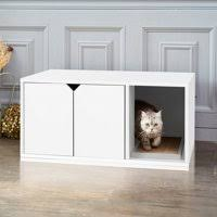 enclosed litter box furniture. Product Image Way Basics EcoFriendly Cat Litter Box Enclosed Hidden Loo Inside Furniture