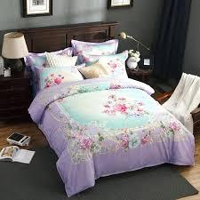 light purple bedding style light purple bedding set queen king duvet cover set flat sheet cotton