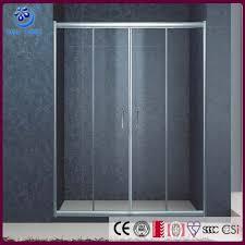 4 panels sliding door shower enclosures