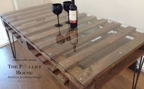 diy furniture made from pallets. dining room table made of salvage pallet, diy, how to, painted furniture, diy furniture from pallets