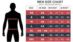 Sizing Guide For Leather Jackets Angel Jackets
