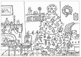 Hard Christmas Coloring Pictures Hard Christmas Coloring Pages