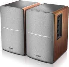 Mua Edifier R1280DB Powered Bluetooth Bookshelf Speakers - Optical Input -  Wireless Studio Monitors - 4 Inch Near Field Speaker - 42w RMS - Wood Grain  trên Amazon Mỹ - Danh mục Loa Bookshelf - LuxStore.Com