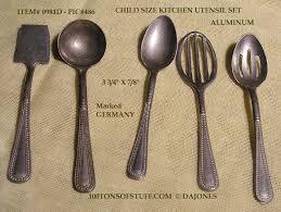 aluminum kitchen utensils. Wonderful Aluminum 100tos0981D Child Size 5 Aluminum Utensils Stamped Germany Inside Aluminum Kitchen Utensils A